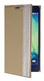 Eiroo Samsung Galaxy A5 Gizli M�knat�sl� Yan Kapakl� Gold K�l�f