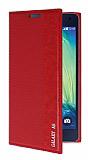 Eiroo Samsung Galaxy A5 Gizli M�knat�sl� Yan Kapakl� K�rm�z� K�l�f