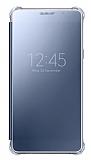 Samsung Galaxy A5 2016 Orjinal Clear View Uyku Modlu Siyah K�l�f