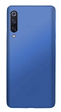Samsung Galaxy A50 Mat Lacivert Silikon Kılıf