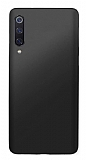 Samsung Galaxy A50 Mat Siyah Silikon Kılıf