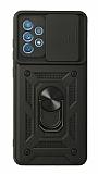 Eiroo Magnet Lens Samsung Galaxy A52 / A52 5G Ultra Koruma Siyah Kılıf