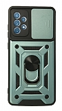 Eiroo Magnet Lens Samsung Galaxy A52 / A52 5G Ultra Koruma Yeşil Kılıf