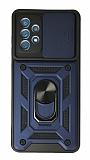 Eiroo Magnet Lens Samsung Galaxy A52 / A52 5G Ultra Koruma Lacivert Kılıf