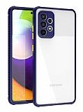 Samsung Galaxy A52 Ultra Koruma Kaff Lacivert Kılıf
