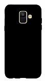 Samsung Galaxy A6 2018 Mat Siyah Silikon Kılıf
