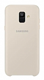 Samsung Galaxy A6 2018 Orjinal Çift Katmanlı Gold Arka Kapak
