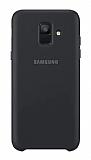 Samsung Galaxy A6 2018 Orjinal Çift Katmanlı Siyah Arka Kapak