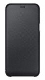 Samsung Galaxy A6 2018 Orjinal Kapaklı Siyah Kılıf