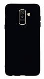 Samsung Galaxy A6 Plus 2018 Mat Siyah Silikon Kılıf
