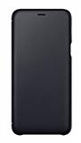 Samsung Galaxy A6 Plus 2018 Orjinal Kapaklı Siyah Kılıf