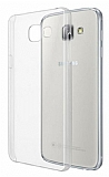 Samsung Galaxy A7 2016 Şeffaf Kristal Kılıf