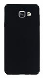 Samsung Galaxy A7 2016 Tam Kenar Koruma Siyah Rubber K�l�f