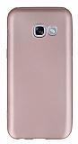 Samsung Galaxy A7 2017 Mat Rose Gold Silikon Kılıf