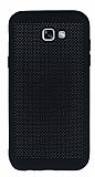 Samsung Galaxy A7 2017 Noktalı Mat Siyah Silikon Kılıf