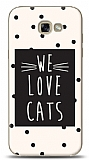 Samsung Galaxy A7 2017 We Love Cats Kılıf