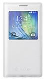 Samsung Galaxy A7 Orjinal Uyku Modlu Pencereli Beyaz Kılıf
