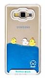 Samsung Galaxy A7 Sulu Ördek Rubber Kılıf