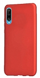 Samsung Galaxy A70 Mat Kırmızı Silikon Kılıf