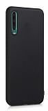 Samsung Galaxy A70 Mat Siyah Silikon Kılıf