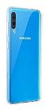 Samsung Galaxy A70 Ultra İnce Şeffaf Silikon Kılıf