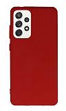 Anti-Shock Samsung Galaxy A72 Kırmızı Silikon Kılıf