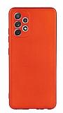 Samsung Galaxy A72 Kırmızı Mat Silikon Kılıf