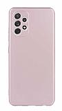 Samsung Galaxy A72 Rose Gold Mat Silikon Kılıf