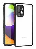 Samsung Galaxy A72 Ultra Koruma Kaff Siyah Kılıf