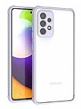 Samsung Galaxy A72 Ultra Koruma Kaff Mor Kılıf