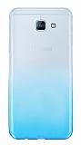 Samsung Galaxy A8 2016 Geçişli Mavi Silikon Kılıf