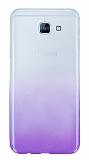 Samsung Galaxy A8 2016 Geçişli Mor Silikon Kılıf