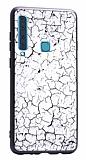Samsung Galaxy A9 2018 Marble Beyaz Silikon Kılıf