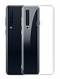 Samsung Galaxy A9 2018 Ultra İnce Şeffaf Silikon Kılıf
