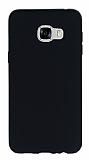 Samsung Galaxy C5 Mat Siyah Silikon Kılıf