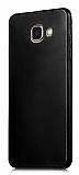 Samsung Galaxy C7 Pro Mat Siyah Silikon Kılıf