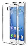 Samsung Galaxy C7 SM-C7000 Şeffaf Kristal Kılıf