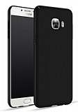 Samsung Galaxy C7 SM-C7000 Tam Kenar Koruma Siyah Rubber Kılıf