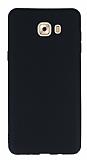 Samsung Galaxy C9 Pro Ultra İnce Mat Siyah Silikon Kılıf