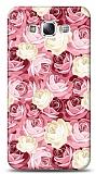 Samsung Galaxy E5 Çiçek Desenli 2 Kılıf