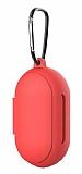 Samsung Galaxy Buds Kırmızı Silikon Kılıf