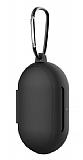 Samsung Galaxy Buds Siyah Silikon Kılıf
