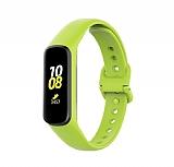 Samsung Galaxy Fit 2 Yeşil Silikon Kordon