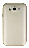 Samsung i9082 Galaxy Grand Duos Mat Gold Silikon Kılıf