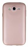 Samsung i9082 Galaxy Grand Duos Mat Rose Gold Silikon Kılıf