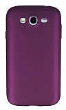 Samsung i9082 Galaxy Grand Duos Mat Mor Silikon Kılıf