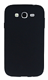 Samsung i9082 Galaxy Grand Duos Mat Siyah Silikon Kılıf