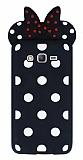 Samsung Galaxy Grand Prime / Prime Plus Fiyonklu Siyah Silikon Kılıf
