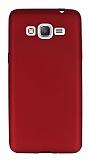 Samsung Galaxy Grand Prime / Prime Plus Mat Kırmızı Silikon Kılıf