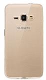 Samsung Galaxy J1 2016 Şeffaf Kristal Kılıf